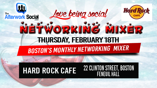 Boston's Monthly Networking mixer