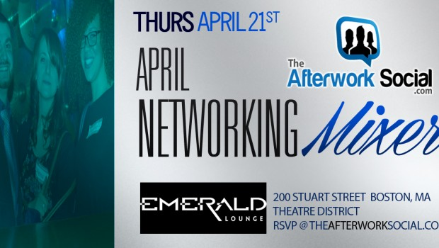 Boston Networking Mixer in April